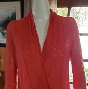 Knitted and Knotted Winding Cardigan